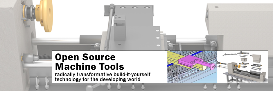 Open Source Machine Tools