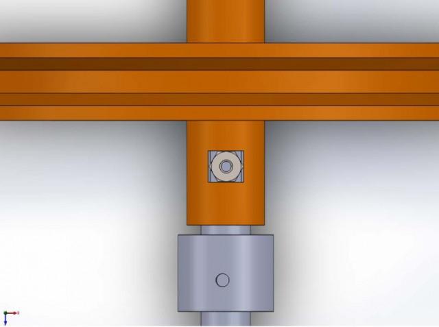 Universal Hub detail -- nut retainer